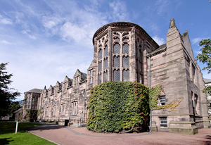 Old Aberdeen University on a summers day.