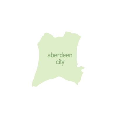 map for zone 1 travel - Aberdeen City